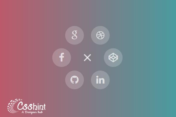 17+ Circular menu example's - csshint - A designer hub