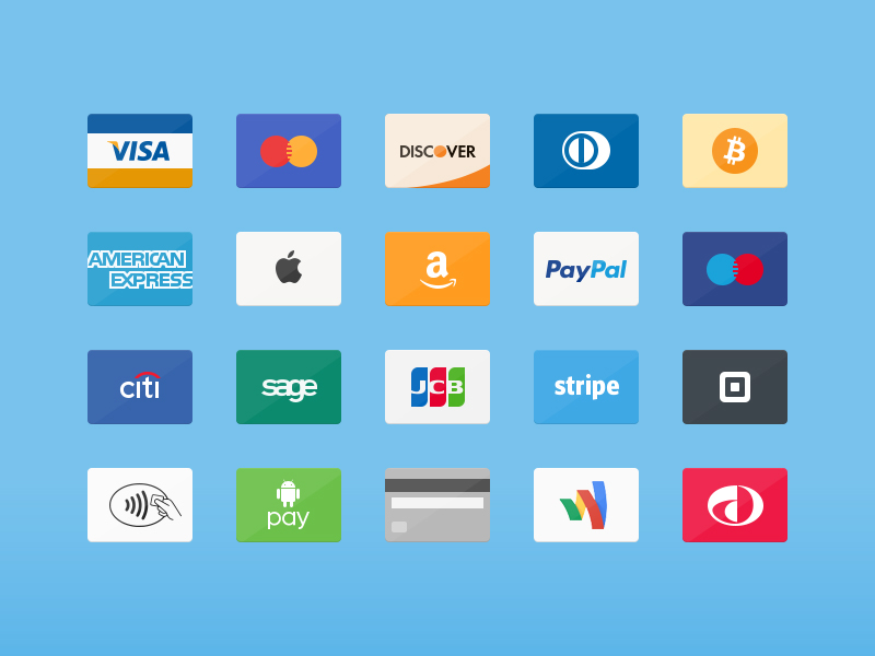 Free Credit Cards Free PSD